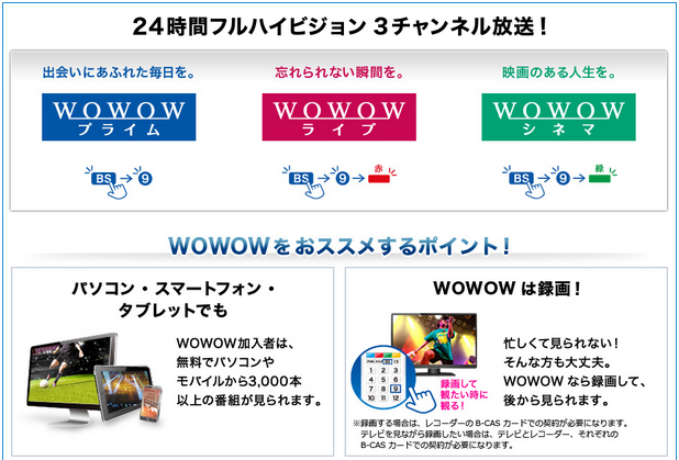 wowow申し込み3の画像